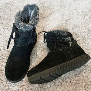 Sketcher Black Leather Boots